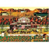 HM520-113秋-南瓜農莊 Fall- Pumpkin Farm  520片拼圖